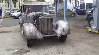 First drive of a 1937 25/30  Rolls Royce in restoration