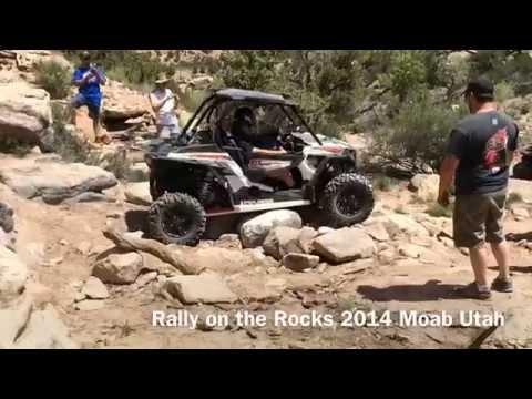 Rally on the Rocks. UTV Offroad Brittney Spears Moab Utah