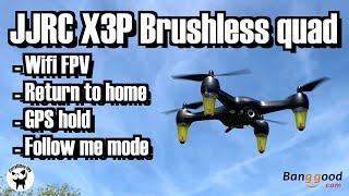 JJRC X3P GPS quad, supplied by Banggood
