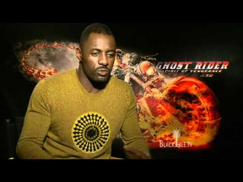 Idris Elba talks about his new movie Ghost Rider Spirit of Vengeance