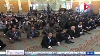 صدقي صبحي يؤدي صلاة الجمعة بمسجد السلام بشرم الشيخ