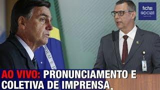 AO VIVO: COLETIVA DE IMPRENSA DO GOVERNO JAIR BOLSONARO - GENERAL RÊGO BARROS, TSUNAMI, MORO, SA..