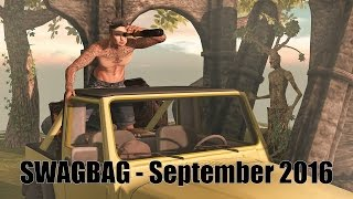SwagBag (for men) - September 2016 - Unboxing Video - Second Life Subscription Box