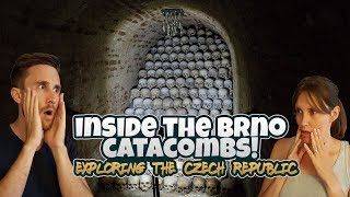 Visiting SECOND LARGEST Catacombs | Brno, Czech Republic is incredible!