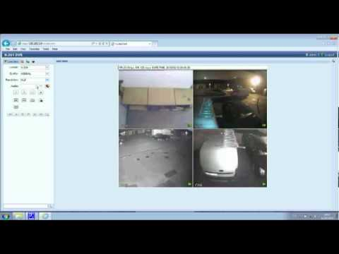 How to Setup a CCTV DVR for remote viewing online by PC Mac & smart phone internet Access 8517022012