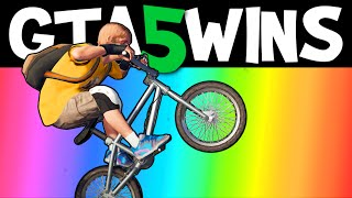 GTA 5 WINS – EP. 3 (Funny moments, Stunts, Epic Wins compilation online Grand Theft Auto V Gameplay)