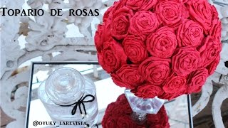 decoracion san valentin | floral ball | diy