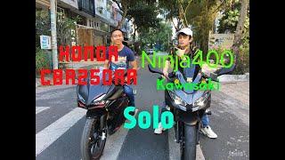 So sánh ngoại hình Honda CBR250RR và Kawasaki Ninja 400 - Kẻ 8 lạng người nửa cân