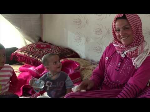WorldLeadersTV: LEBANON: SYRIAN REFUGEES in BEKAA VALLEY SETTLEMENTS (UNHCR)