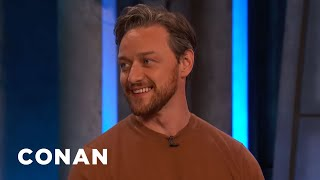 James McAvoy Injured Himself Doing Unnecessary Stunts - CONAN on TBS