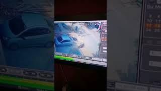 Accident ka dhamaka kar diyaa