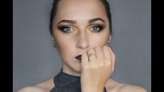 макияж 2017// Белорусская косметика// макияж тенями с AliExpress