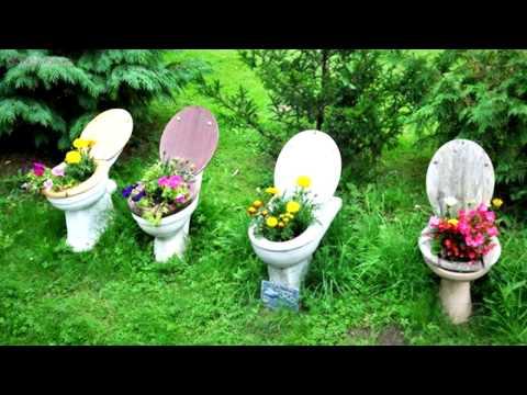 Bahçe Dekorasyonunda Kullanabileceğiniz 14 Eski Eşya!