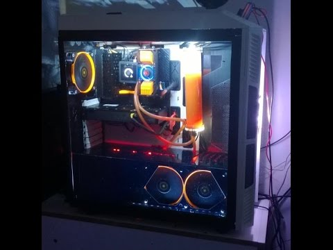 Como fazer Mod em watercooler Selado (corsair. Thermaltake. Antec) How to mod self cointained