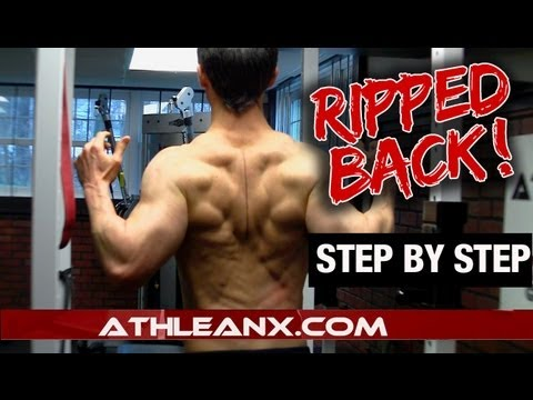 RIPPED Back Workout - In-Depth Tips (STEP BY STEP!)