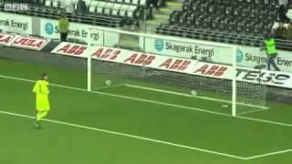world record Halfway-line Header Goal.avi