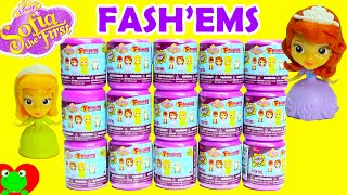Sofia the First Fashems Huevos Sorpresa de Plastilina Princess Sofia Fash'em