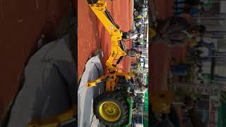 EXCAVATOR BY BULL KISSAN EXPO PUNE 2018