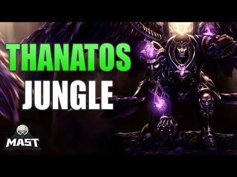 Thanatos Jungle Gameplay - Close Game! | SMITE Conquest