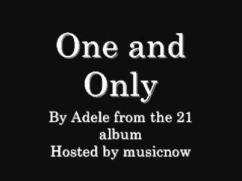 Adele - One and Only (with download link)