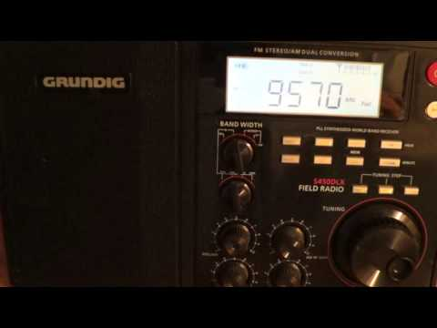 China radio International on Grundig S450DLX shortwave radio