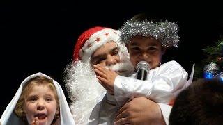 Papá Noel explica el verdadero sentido de la Navidad (Marcelo Olima)