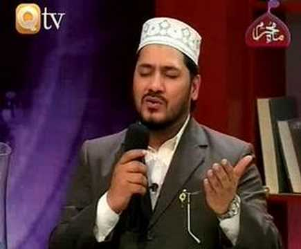 Urdu Naat Zulfiqar Ali In Qtv ( Dare Nabi Par ) video