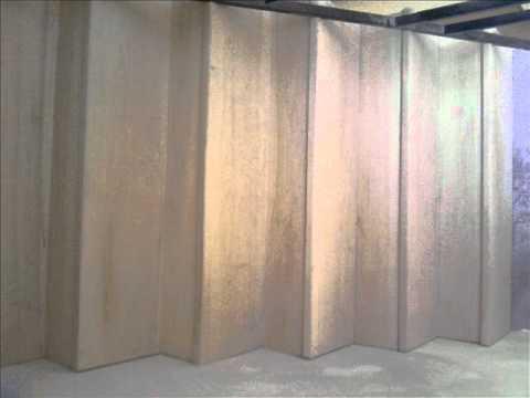 Revestimiento de escalera de concreto en youtube for Escaleras retractiles