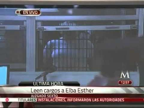 Leen cargos a Elba Esther Gordillo en el juzgado Sexto
