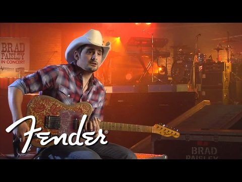 Brad Paisley Celebrates the 60th Anniversary of the Tele
