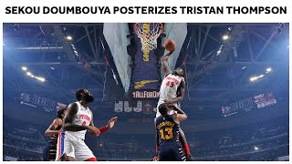 19 Year Old Sekou Doumbouya Posterizes Tristan Thompson | Pistons NBA Highlights
