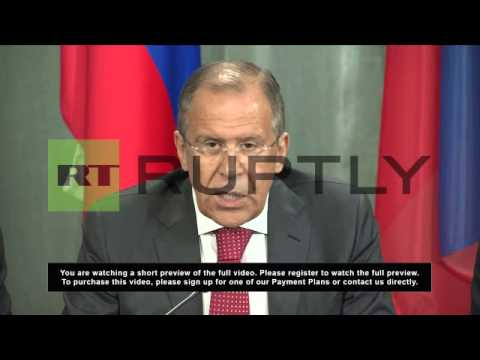 Russia: Lavrov criticises lifting of EU arms embargo on Syria