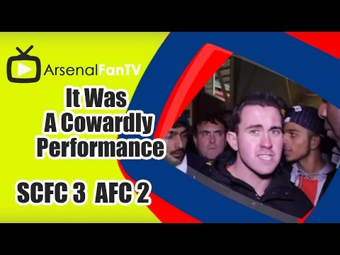 It Was A Cowardly Performance - Stoke City 3 Arsenal 2