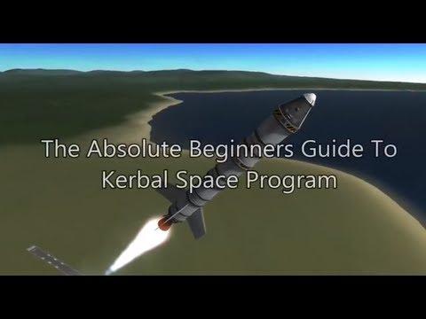 Kerbal Space Program 101 - Tutorial For Beginners - Construction, Piloting, Orbiting