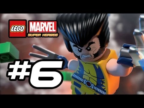 LEGO Marvel Super Heroes Gameplay Walkthrough - Part 6 - WOLVERINE!!! (Lego Gameplay HD)