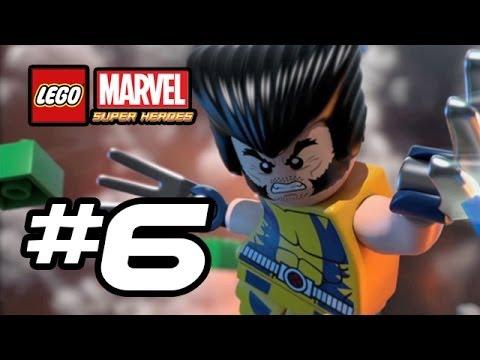 LEGO Marvel Super Heroes Gameplay Walkthrough - Part 6 - WOLVERINE!!! (Lego Gameplay HD)