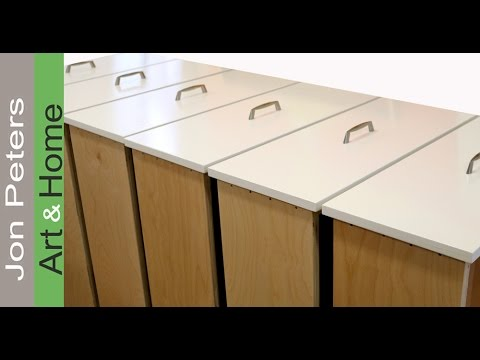 How to Attach Drawer Pulls Perfectly Straight