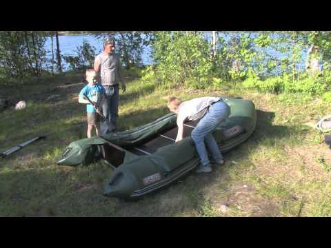 сборка лодки пвх викинг 340