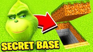 Minecraft : WHATS INSIDE THE GRINCH SECRET BASE? (Ps3/Xbox360/PS4/XboxOne/PE/MCPE)