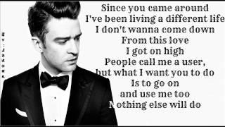 Download Lagu Justin Timberlake - Pusher Love Girl ( Lyrics On Screen ) 2013 ( The 20 / 20 Experience ) Gratis STAFABAND