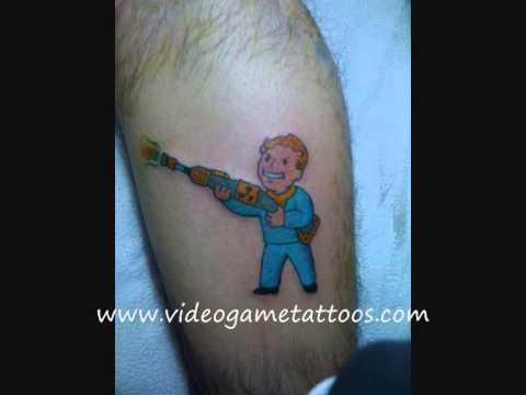 Vault Boy Tattoo Vault Boy Tattoos