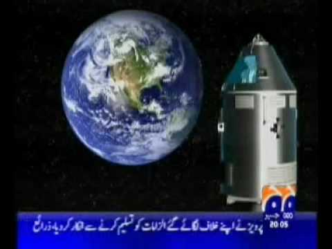 Pakistani Jouranlist / Television making fun of Indian Satellite