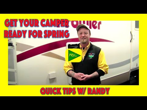Let the Pros Get Your Camper Ready for Spring | Pete's RV Service Tips