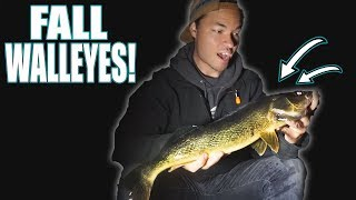 How to Catch Walleyes in Fall (Northern WI)