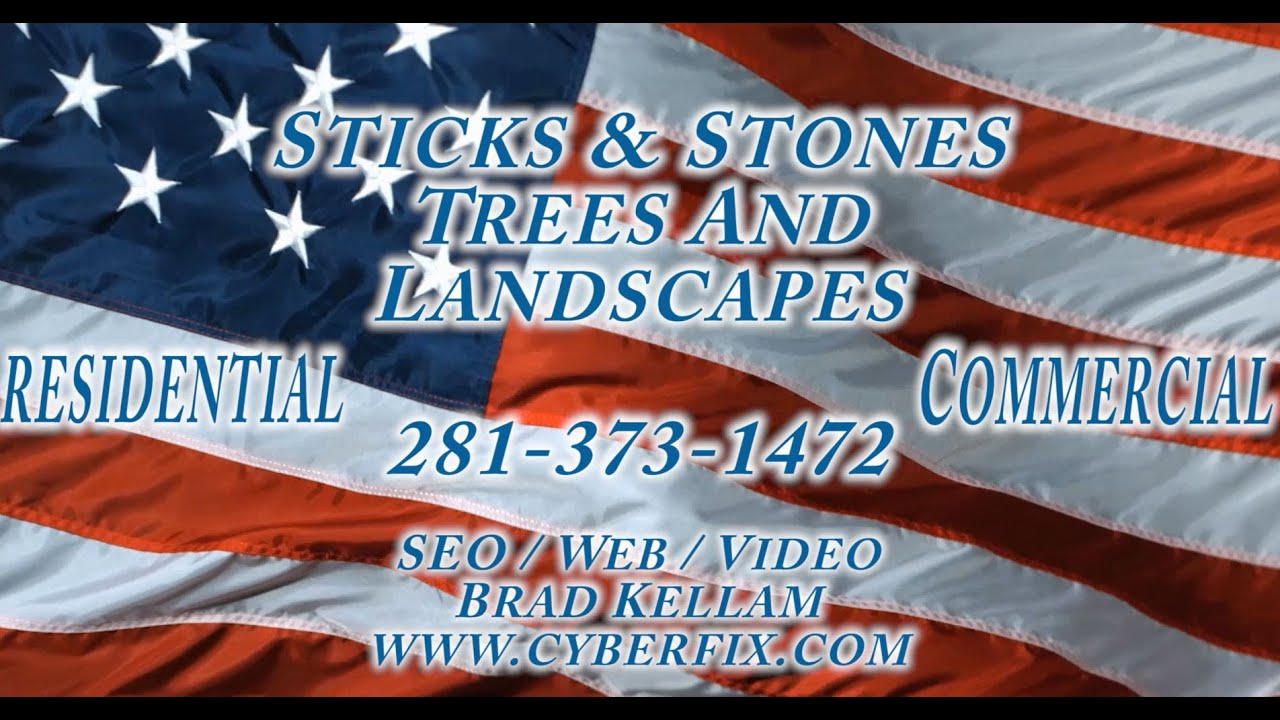 Sticks stones trees landscaping tree removal cypress for Sticks and stones landscaping