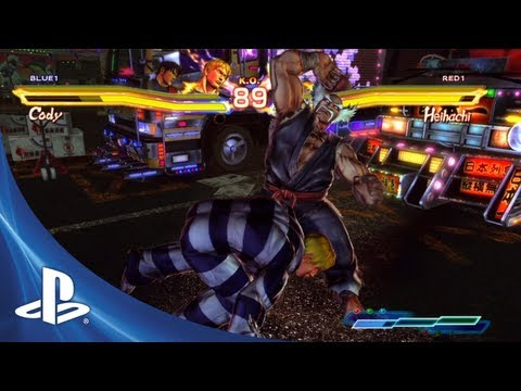 Street Figher X Tekken for PS Vita: Combo Trailer