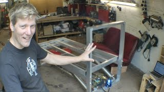 Making the High Voltage Ejector Bed