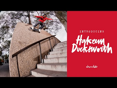 Chocolate Skateboards Welcomes Hakeem Ducksworth