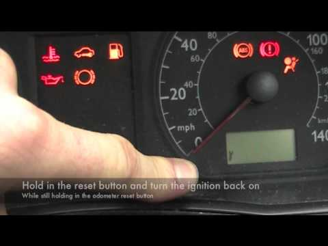 VW Polo service light reset
