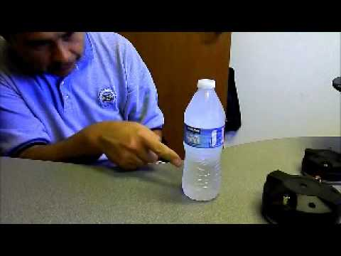 How to make a water bottle instantly into Ice!